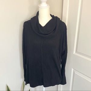 New Nordstrom Ribbed Cowl Neck Oversized Sweater